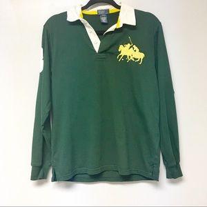 Polo by Ralph Lauren Boy's Green Long Sleeve Shirt
